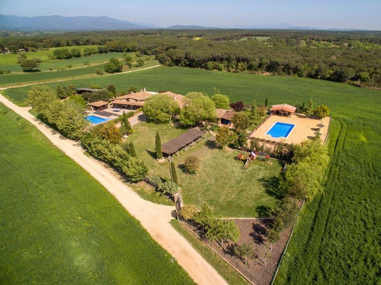 Ferienhaus Santa Coloma mit zwei Pools
