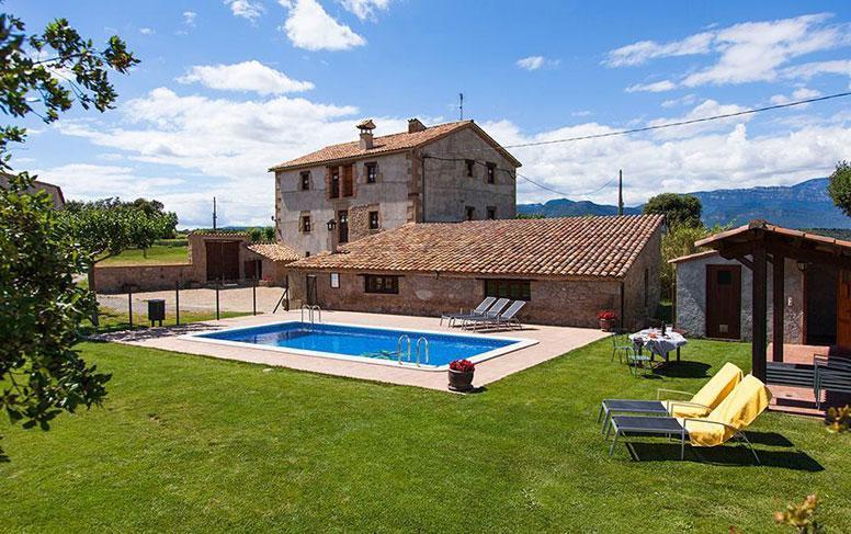 Ferienhaus mit 7 Schlafzimmern und Pool in Pirineus