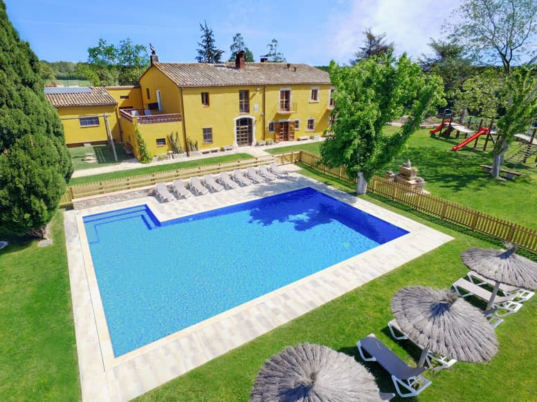 Gruppenhaus Sils Costa Brava mit Pool