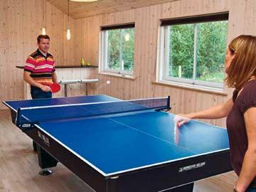Tischtennis im Aufenthaltsraum