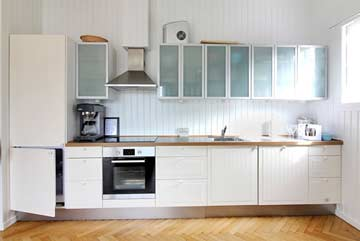 Küche im Gemeinschaftshaus