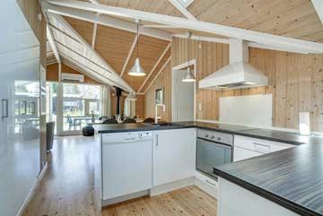 Küche im Ferienhaus 3