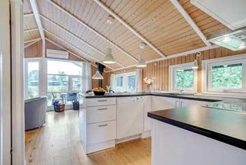 Küche im Ferienhaus 2