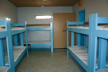 das 10-Bett-Zimmer