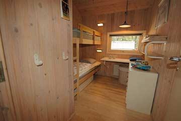 Schlafzimmer 2: Etagenbett