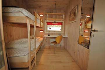 Schlafzimmer 3: Etagenbett
