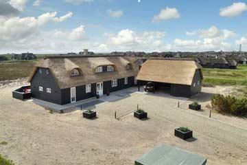 Außenansicht des 2014 gebauten Ferienhauses