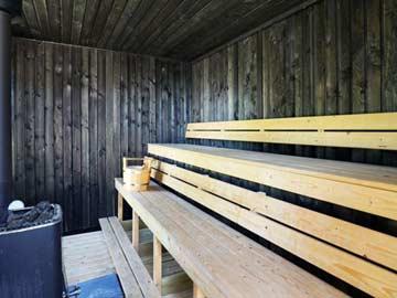 Großzügige Sauna