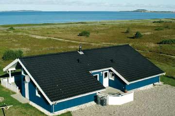 Ferienhaus Farsö mit Wellnessbereich am Strand Trend