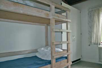 im 4-Bett-Zimmer