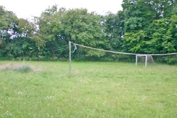 Volleyballfeld im Außenbereich