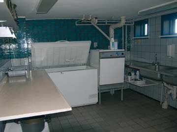 Große Gruppenküche
