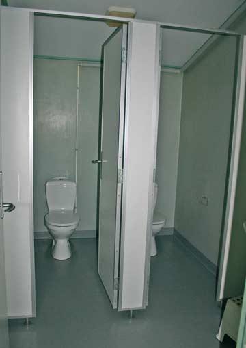 Sanitärraum mit WC