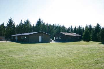 Das Gruppenhaus bei Brovst besteht aus 3 Gebäuden