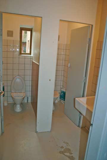 2 WC im EG