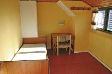 1-Bett-Zimmer im DG
