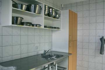 Blick in die Küche