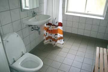 Behindertengerechte Dusche und WC