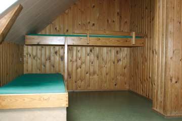 das 3-Bett-Zimmer im DG