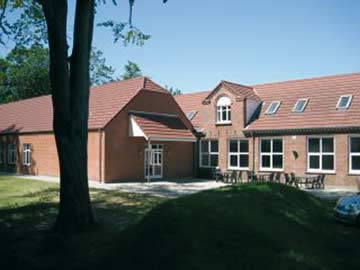 Gruppenhaus Herning mit 10000 qm großem Grundstück