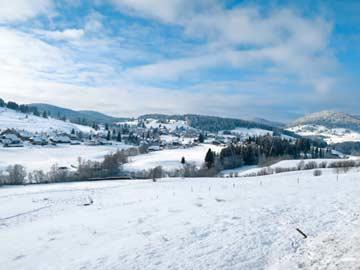 Winteridylle in Bernau