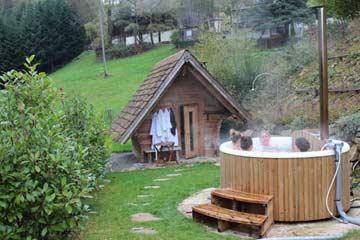 Hot Tub und Sauna