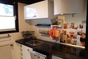 Gut ausgestattete Küche - Beispiel 1