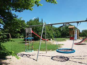 Spielplatz im Ferienhauspark