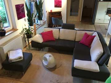 gemütliche Sitzgruppe im Wohn-/ Esszimmer