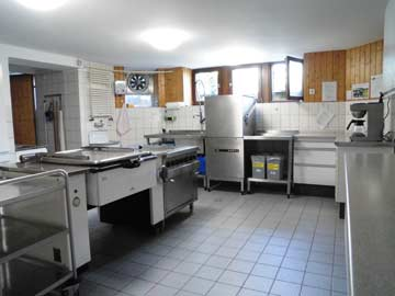 Gruppenküche im UG