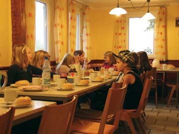 Speise- und Aufenthaltsraum für bis zu 25 Personen