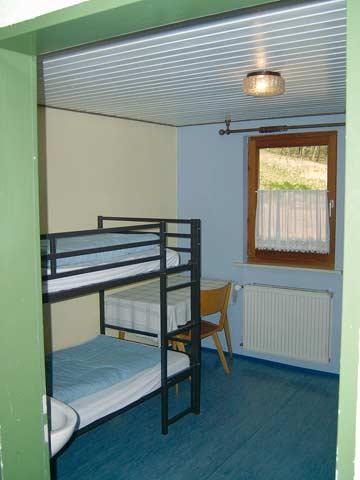 Schlafräume mit Etagenbetten