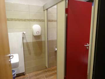 Renoviertes WC im EG