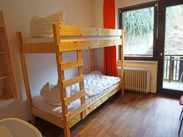 2-Bett-Zimmer mit Etagenbett