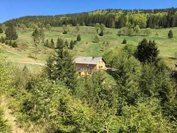 Berghütte Todtmoos 4 km außerhalb des Ortes in herrlicher Alleinlage