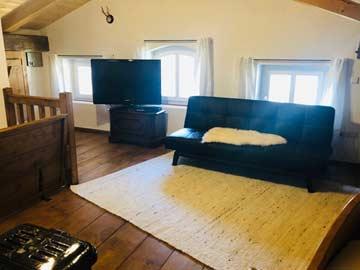 Wohnbereich im Schlafzimmer 3