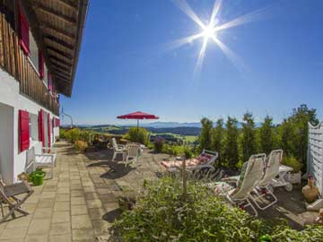 Wunderschönes Ferienhaus mit Sauna und Kachelofen im Oberallgäu