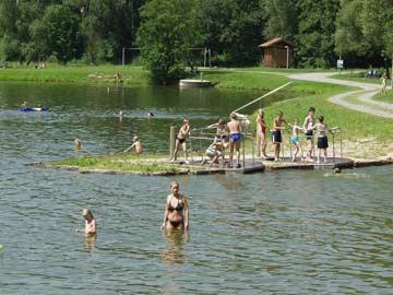 Badespaß in Arrach