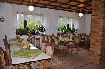 Speise- und Aufenthaltsraum im Nebengebäude