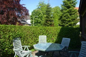 Terrasse am Wintergarten