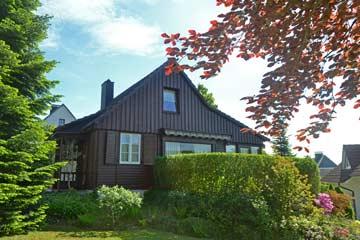 Ferienhaus Hochsauerland (Gartenansicht)