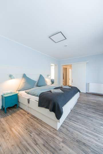 Schlafzimmer mit Pflegebetten