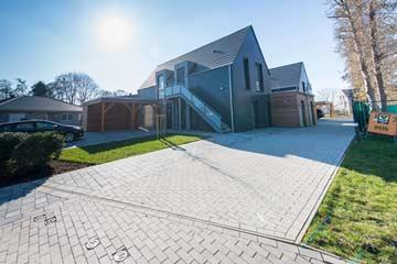 Ferienhaus mit behindertengerechtem Parkplatz
