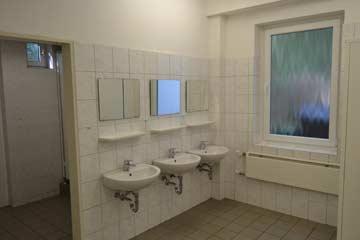 einer der beiden Waschräume