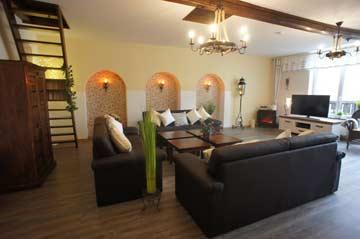 Ferienhaus mit Infrarotsauna und 5 romantischen Schlafzimmern in der Vulkaneifel