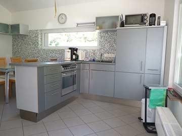 offene Küche in der Mansarde