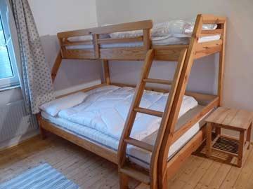 zweites 3-Bett-Zimmer im Haupthaus