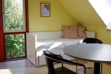 Tagesbett im Wohnraum im OG