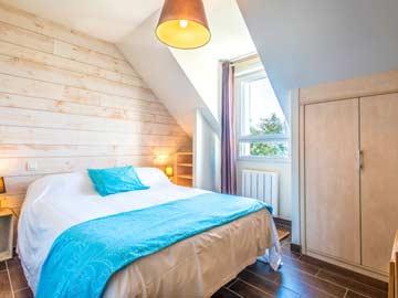1. Schlafzimmer - franz. Doppelbett