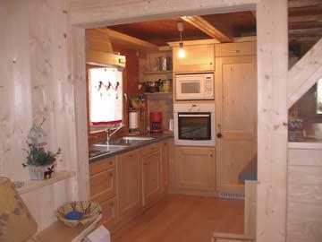 Chalet Morillon - Küche